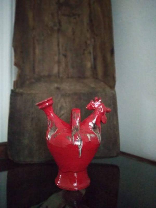 Búcaro rojo
