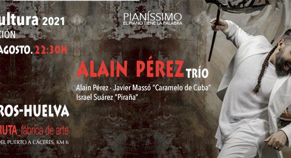 ALAIN PÉREZ TRÍO (Alain Pérez- Javier Nassó «Caramelo de Cuba»- Israel Suarez «Piraña»