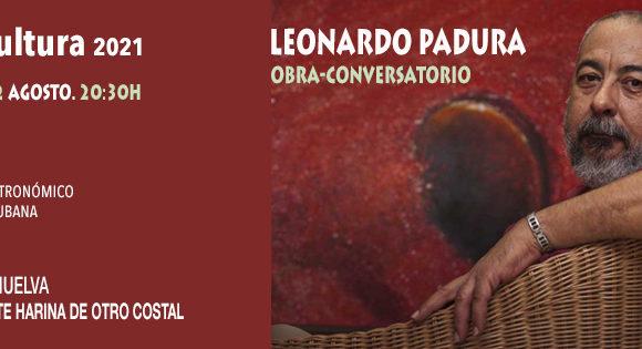 CONVERSATORIO CON LEONARDO PADURA_PIANÍSSIMO GASTRONÓMICO